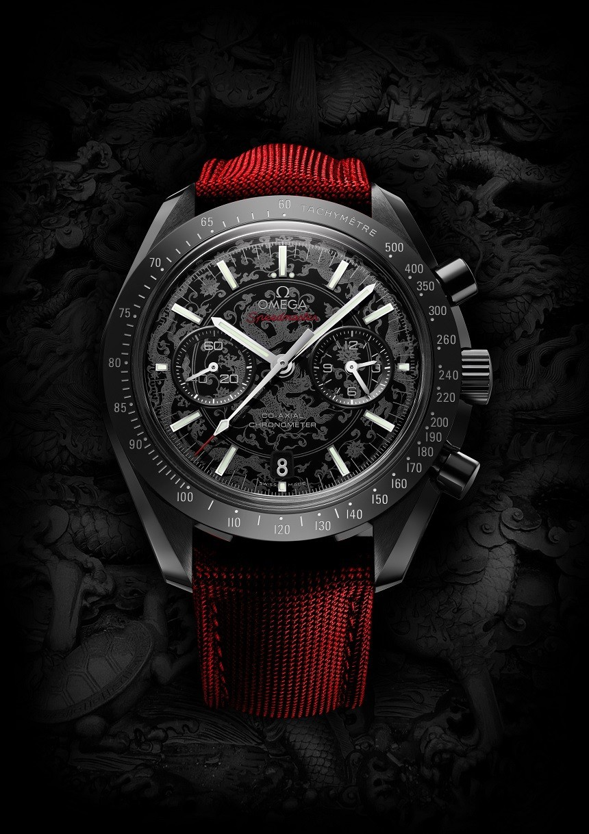 omega speedmaster moonwatch dark side of the moon replica