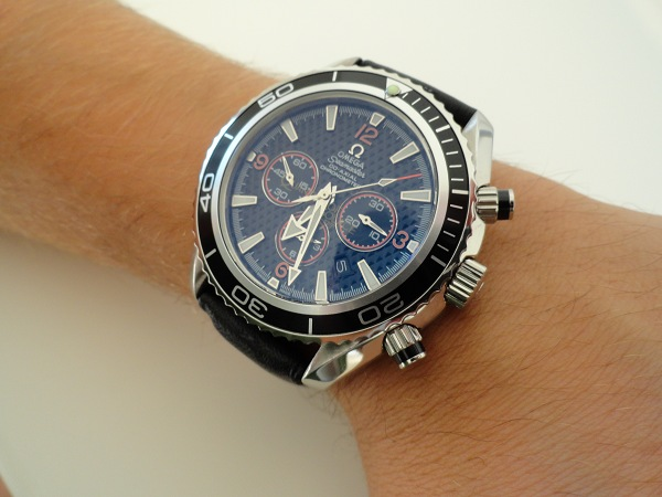 Omega Seamaster Planet Ocean Chrono Replica Watch