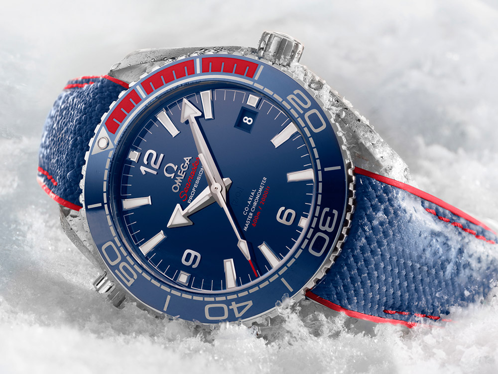 Omega Seamaster Planet Ocean 'PyeongChang 2018' Olympics Watch