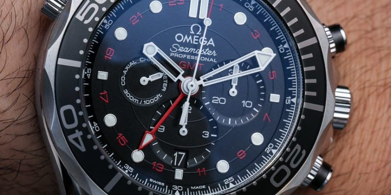 Omega Seamaster 300M Chronograph GMT Co-Axial Watch Hands-On Hands-On