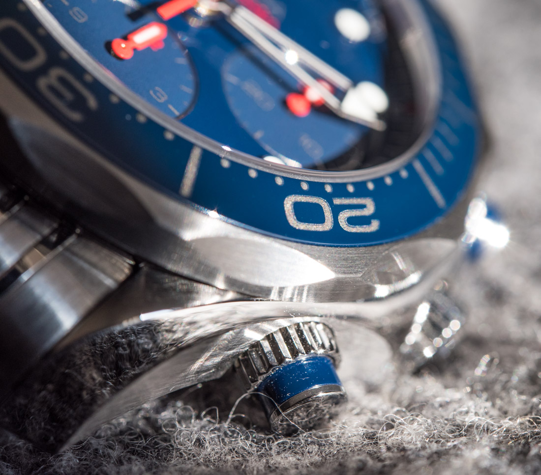 Omega Seamaster 300M Co-Axial Chronograph 41.5mm Watch Review Wrist Time Reviews