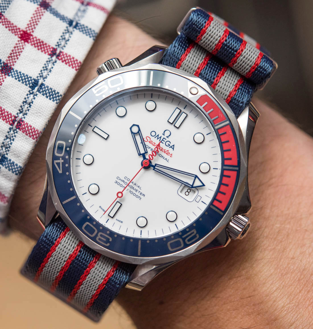 Omega Seamaster Diver 300M 'Commander's Watch' Limited Edition Inspired By James Bond 007 Hands-On Hands-On