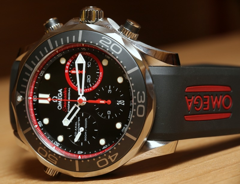 Best Omega Seamaster Diver 300M Co-Axial Chronograph ETNZ Replica Watch