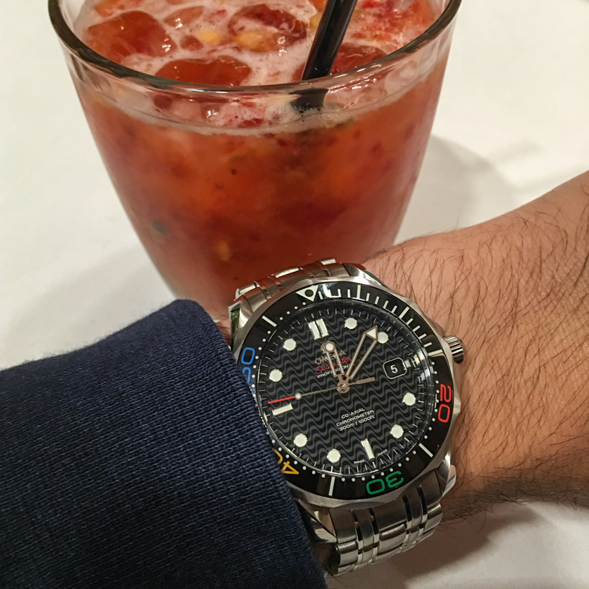 Omega Seamaster Diver 300M Rio 2016 Limited Edition Watch Review At The Olympics In Brazil Wrist Time Reviews